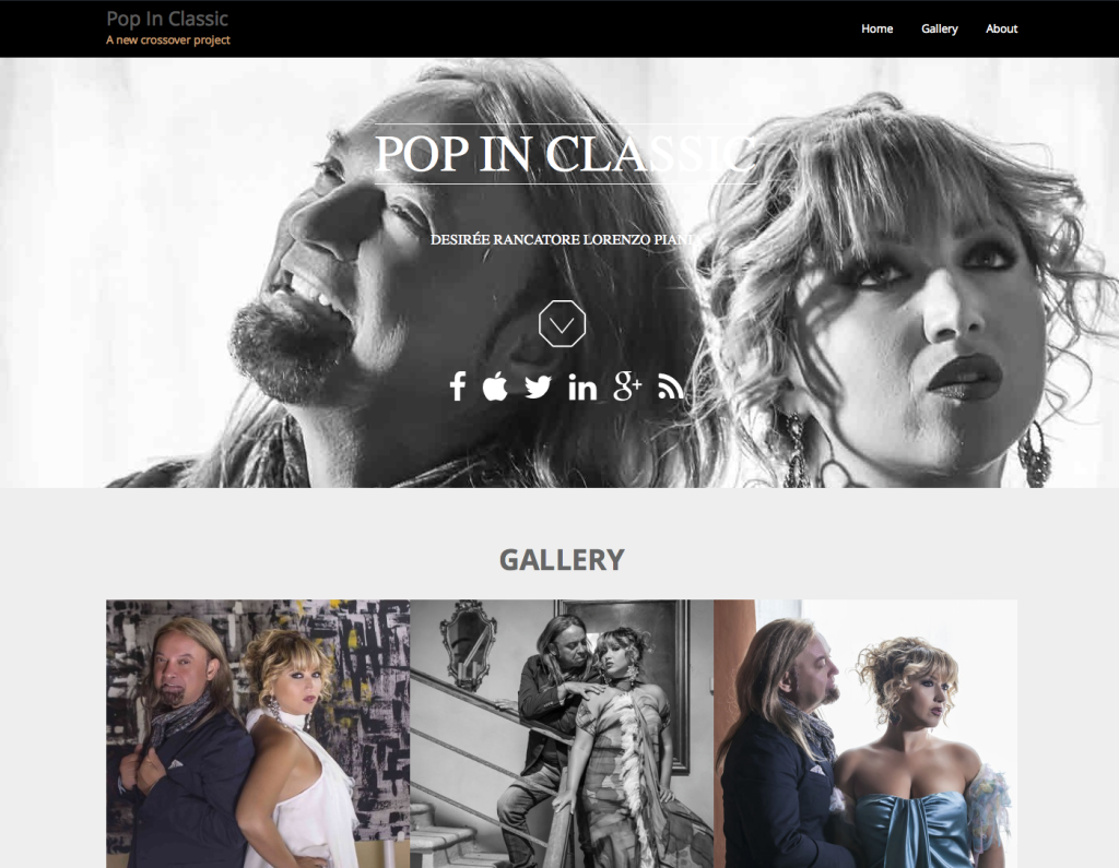 Pop In Classic official site